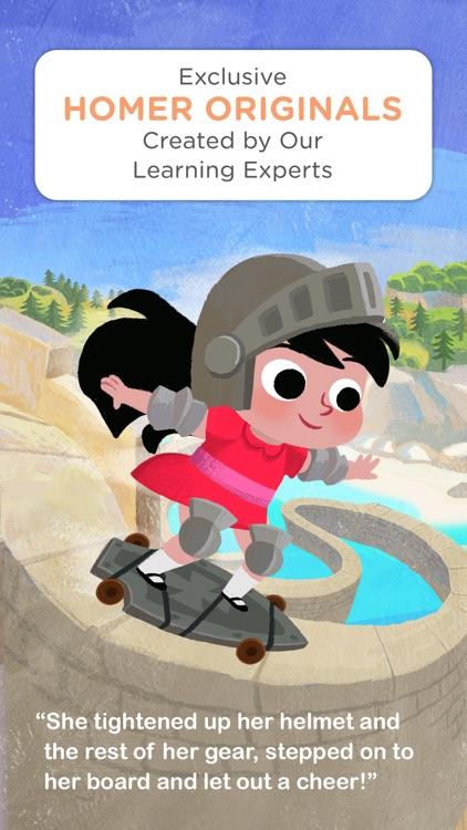 HOMER Stories: Kids Library screenshot-3