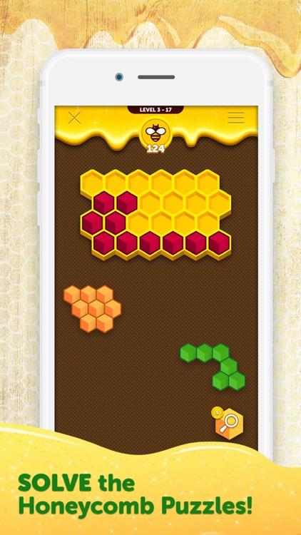 Hexa Buzzle screenshot-3