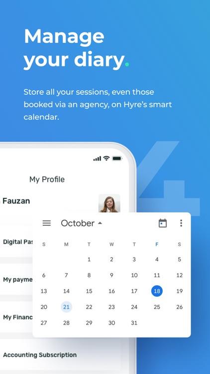 Hyre - Find healthcare work screenshot-3