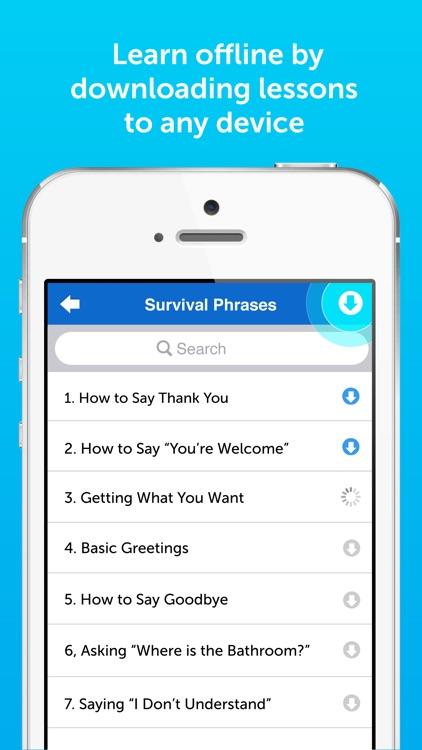 Innovative 101 Learn Languages screenshot-4
