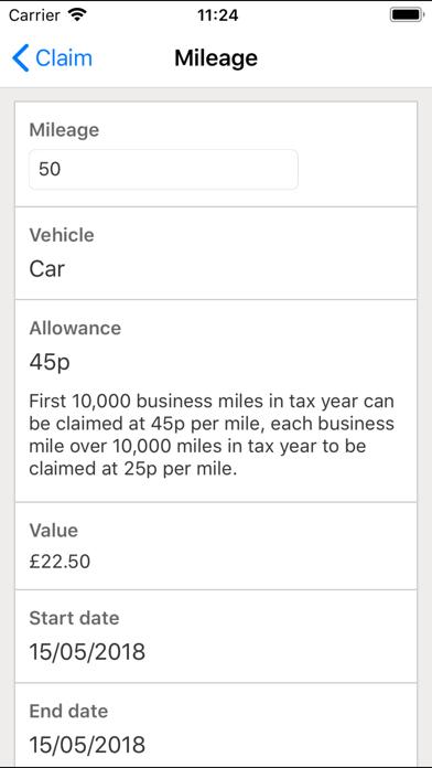 QAccounting Expenses screenshot four