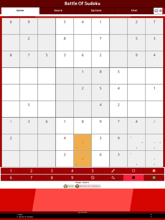 Battle Of Sudoku screenshot 9