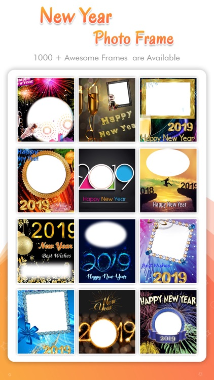 Happy New Year - Photo Frame screenshot-7
