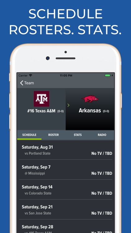 Texas A&M Football Schedules screenshot-9