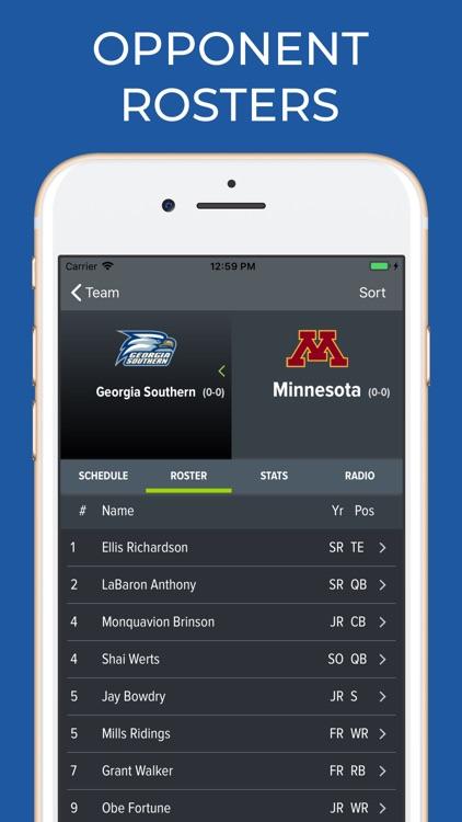 Minnesota Football Schedules screenshot-7