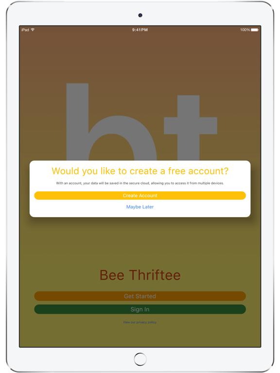 Ipad Screen Shot Bee Thriftee 2