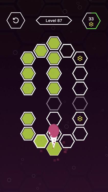 Roller Splat Hexagon