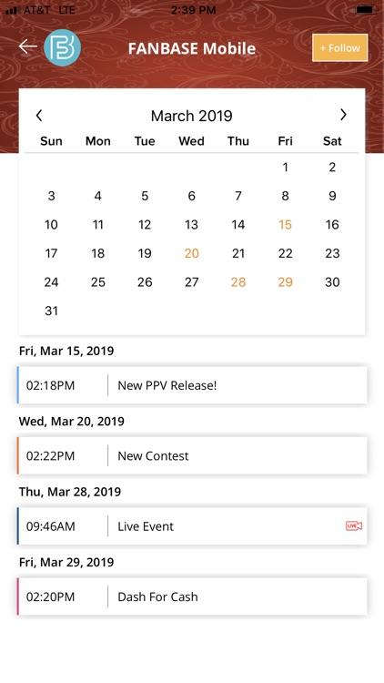 Fanbase Mobile screenshot-3