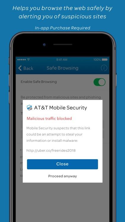 AT&T Mobile Security screenshot-6
