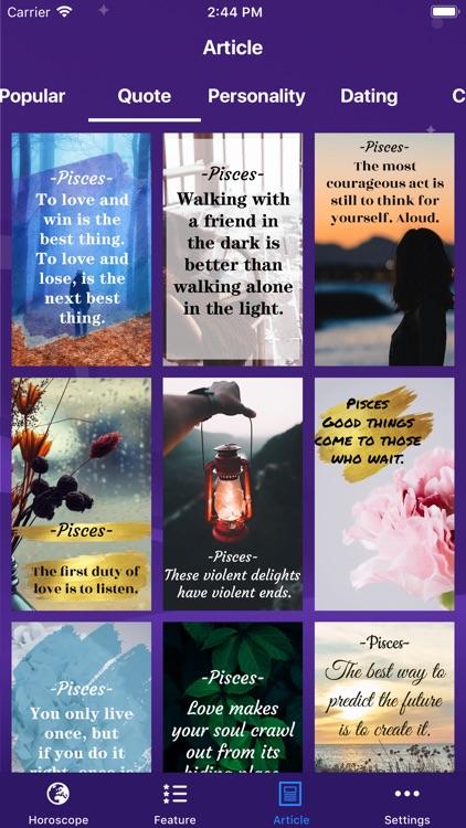 Daily Horoscope &Tarot Reading screenshot-5