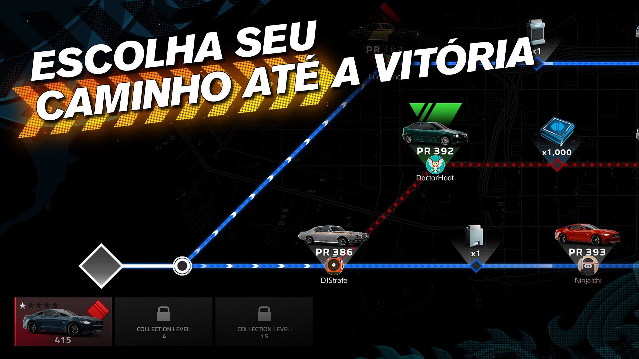 Screenshot do app Forza Street