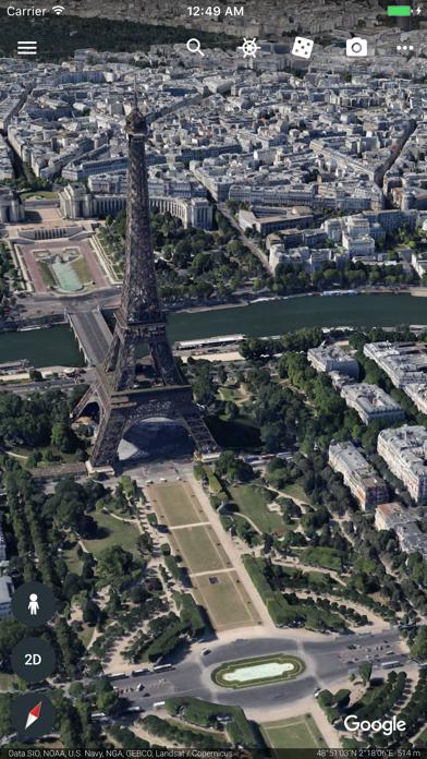 Herunterladen Google Earth für Android