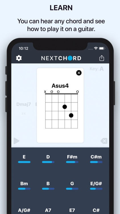 NextChord: Chord Suggestions