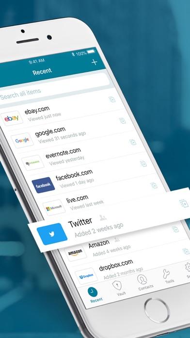 Dashlane Password Manager review screenshots