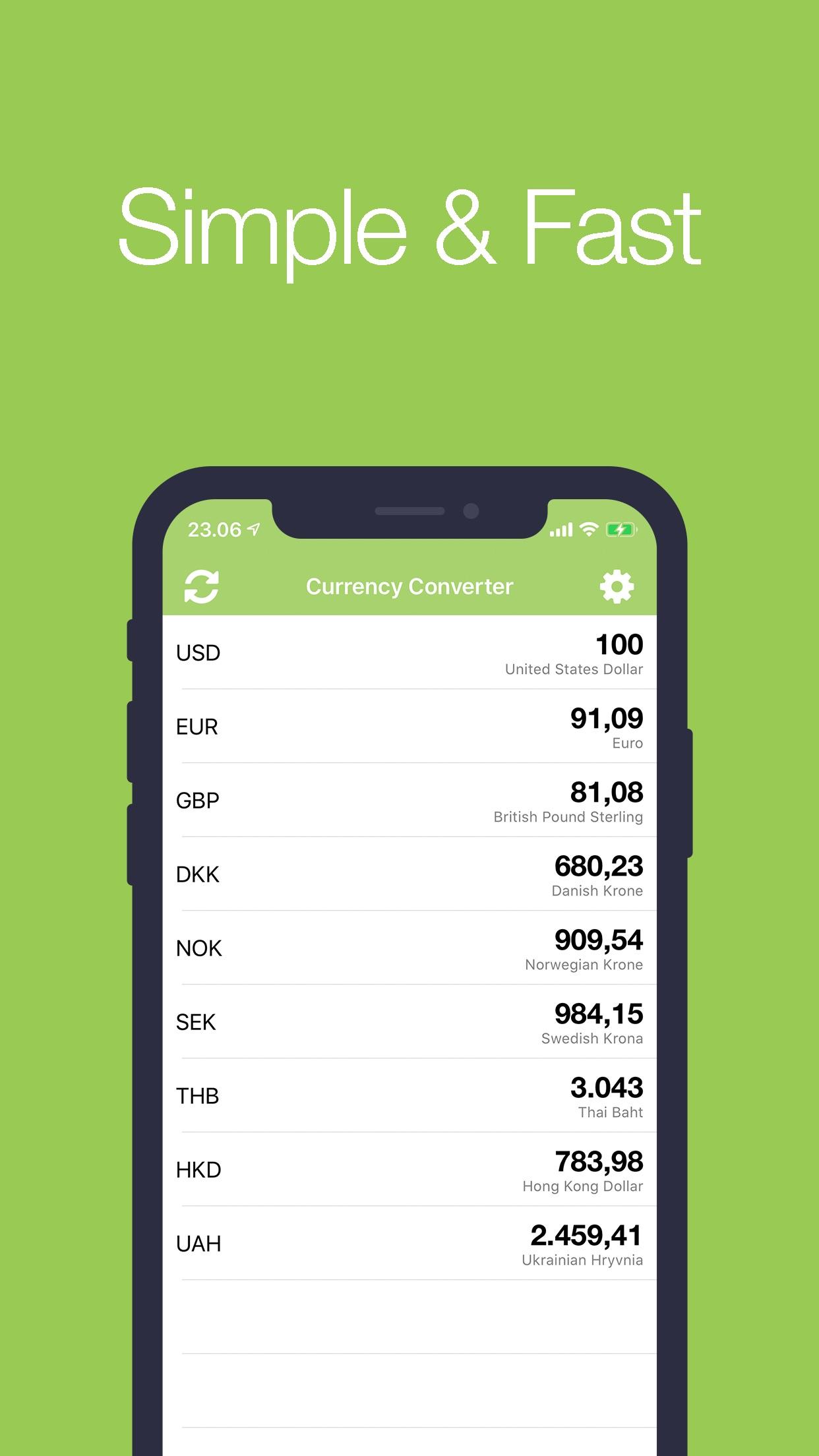 Moneda+ (Conversor de monedas) Screenshot