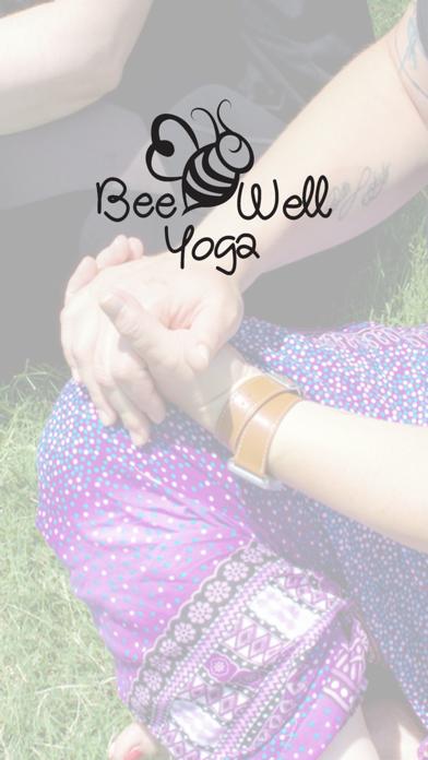Bee Well Yoga screenshot one