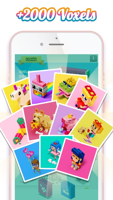 Color by Number  VoxlyColoring Screenshot