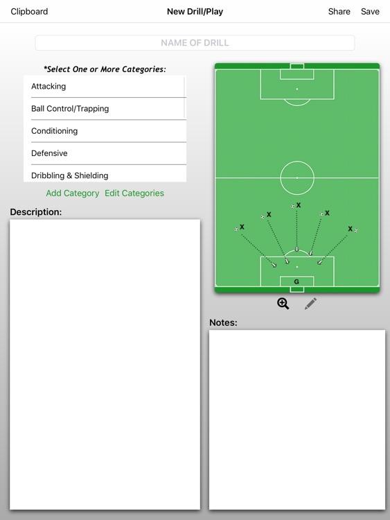 Soccer ClipPad