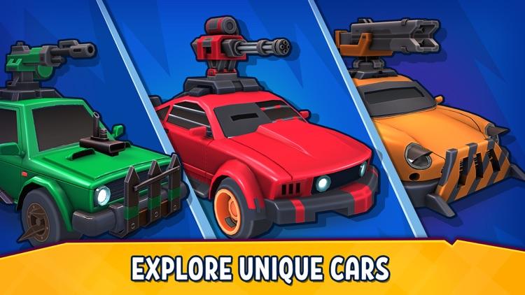 Rage of Car Force: Crash Road screenshot-3