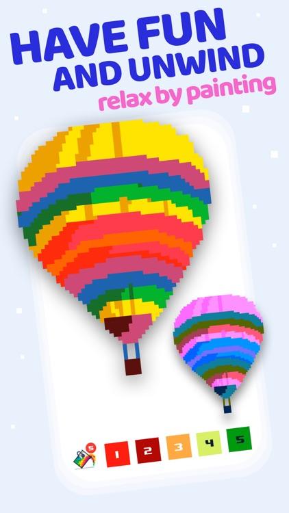 Pixel Land Color by Number art screenshot-3