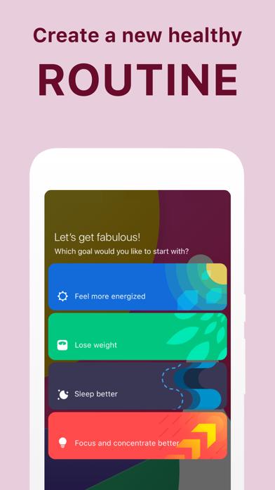Fabulous - Daily Motivation Screenshot