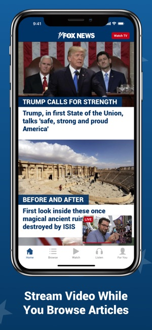 Fox News: Live Breaking News on the App Store