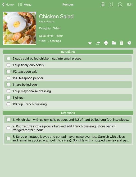 Personal Cookbook II