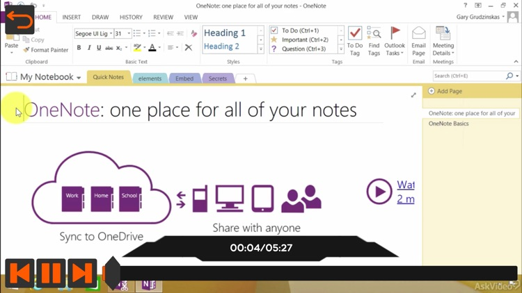 Everywhere Course For OneNote screenshot-3