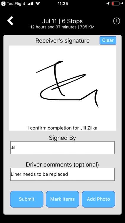 Package AI Driver App screenshot-3