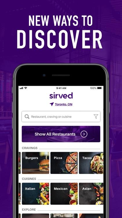 Sirved - Restaurant Menus screenshot-4