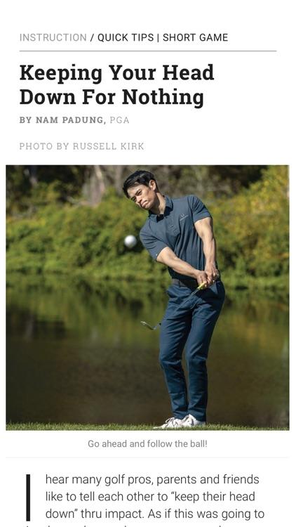 Golf Tips Magazine screenshot-3