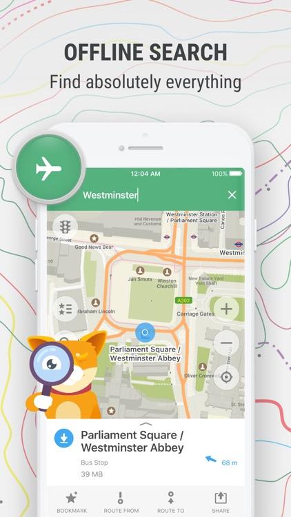 MAPS.ME – Offline Map & Nav screenshot-4
