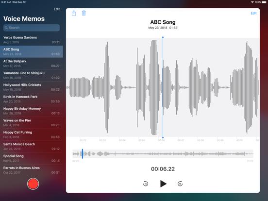 Voice Memos screenshot 6