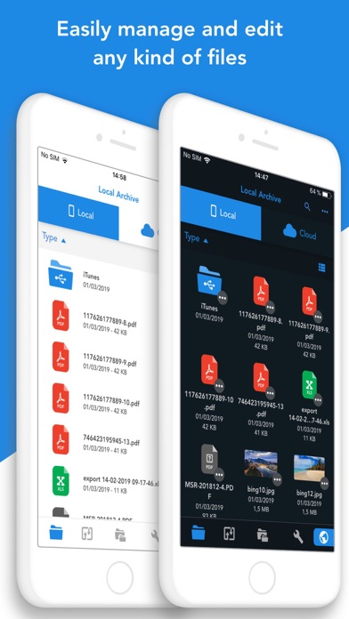 Top 10 Apps like FileBrowser - Document Manager in 2019 for iPhone