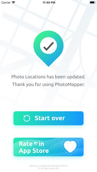 PhotoMapper: GPS EXIF Editor Screenshots