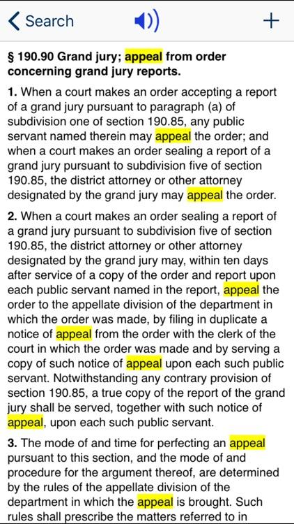 NY Criminal Procedure Law 2020