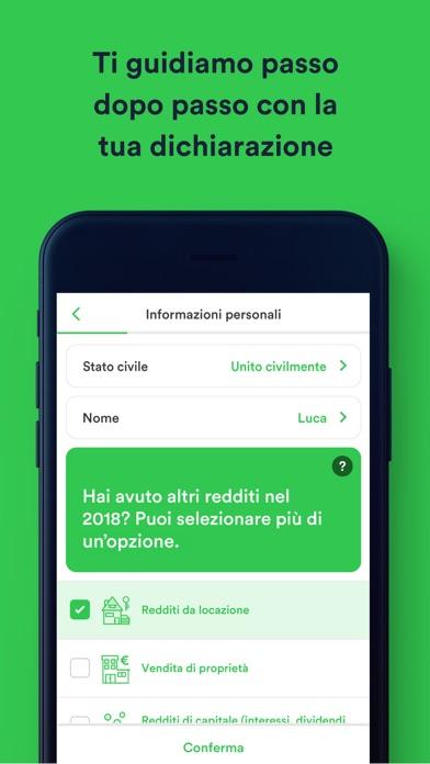 Screenshot for Taxfix - l'App per il 730 in Italy App Store