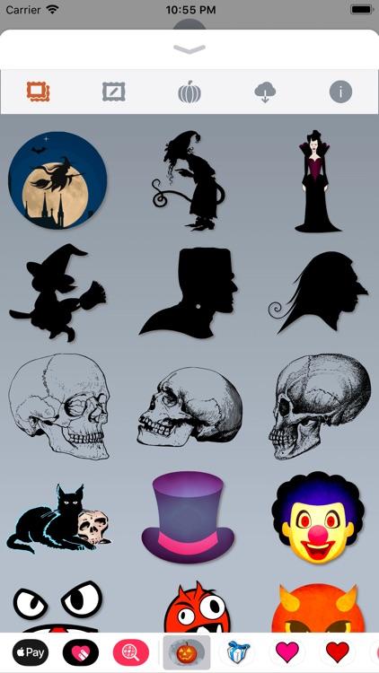 Happy Halloween • Stickers screenshot-9