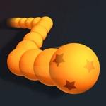 Snake Ball: Avoid Cube Eat Red