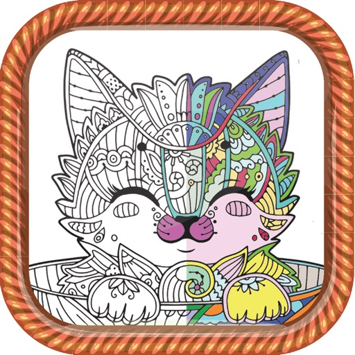 Coloring Book for Adult Sketch