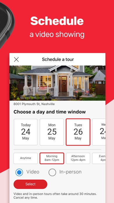 Real Estate App By Realtorcom review screenshots