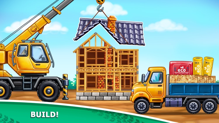 Tractor Games a House Building screenshot-3