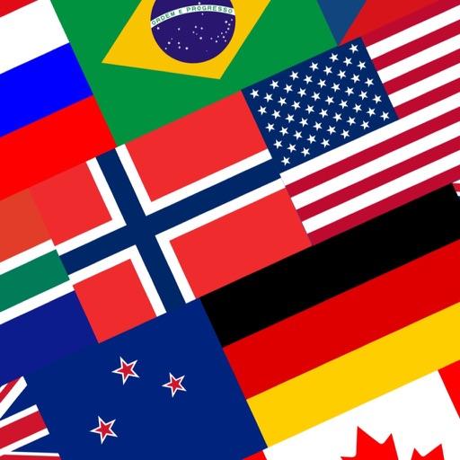 Флаги всех стран - Угадай флаг