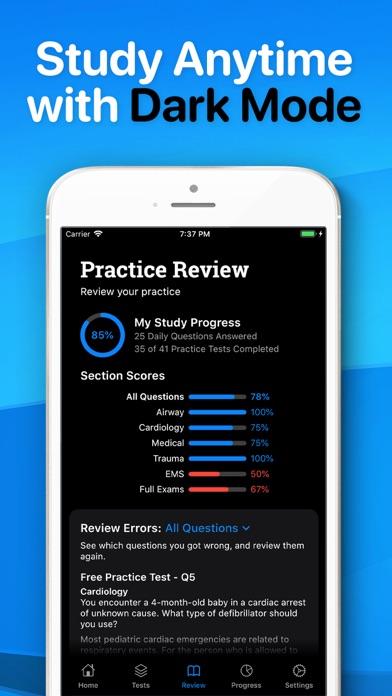 EMT Exam 2021 Prep Screenshot