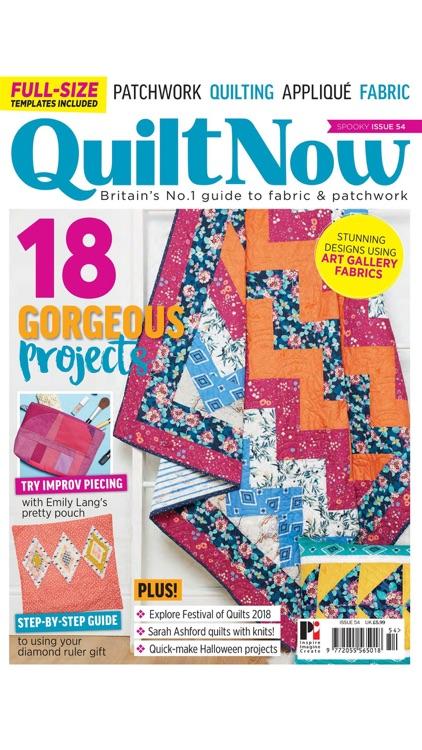 Quilt Now Magazine screenshot-8