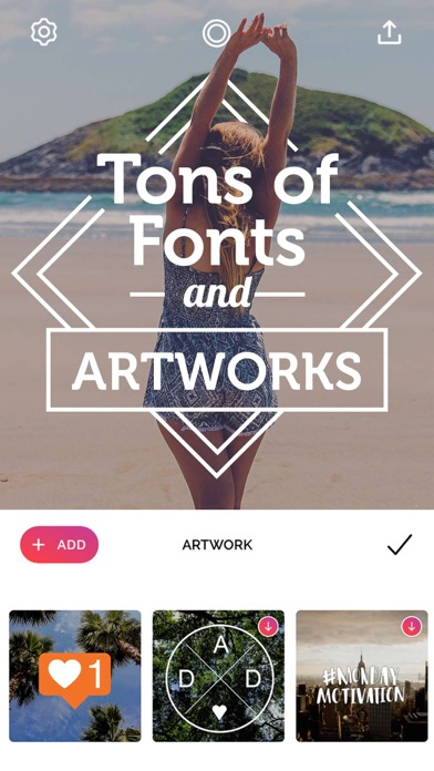 Font Candy Photo Text Editor review screenshots