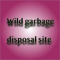Wild garbage disposal site