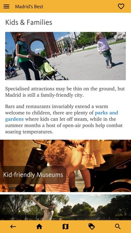 Madrid's Best: Travel Guide screenshot-7