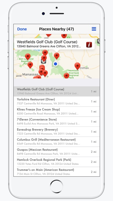 Screenshot for iMapMe in Lebanon App Store
