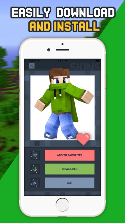 Crafty Skins for Minecraft ™ screenshot-3
